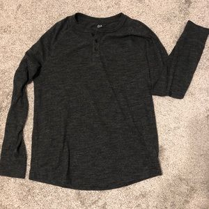 Men's henley shirt